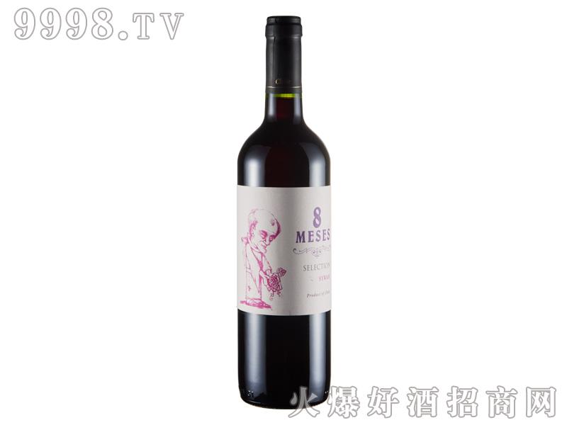智利-牧师西拉干红葡萄酒