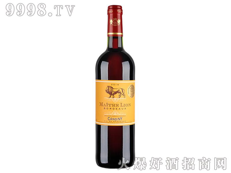 康蒂尼・金狮干红葡萄酒