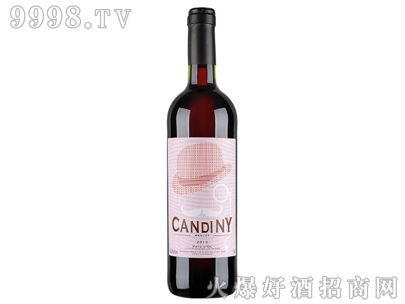 康蒂尼・美乐干红葡萄酒