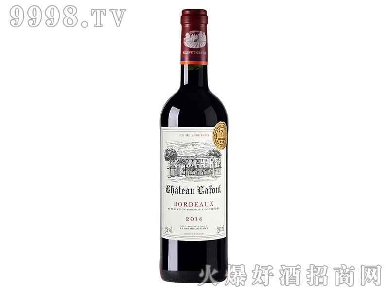 蓝菲・拉佛城堡干红葡萄酒