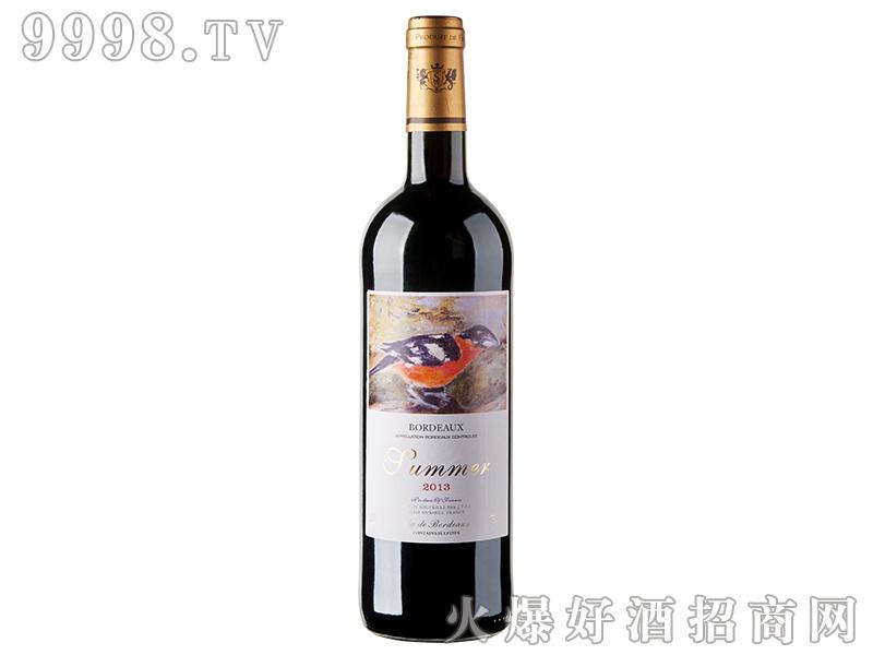 夏蜜尔波尔多干红葡萄酒