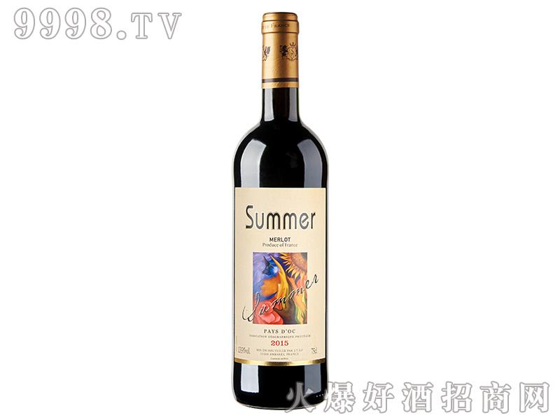 夏蜜尔美乐干红葡萄酒