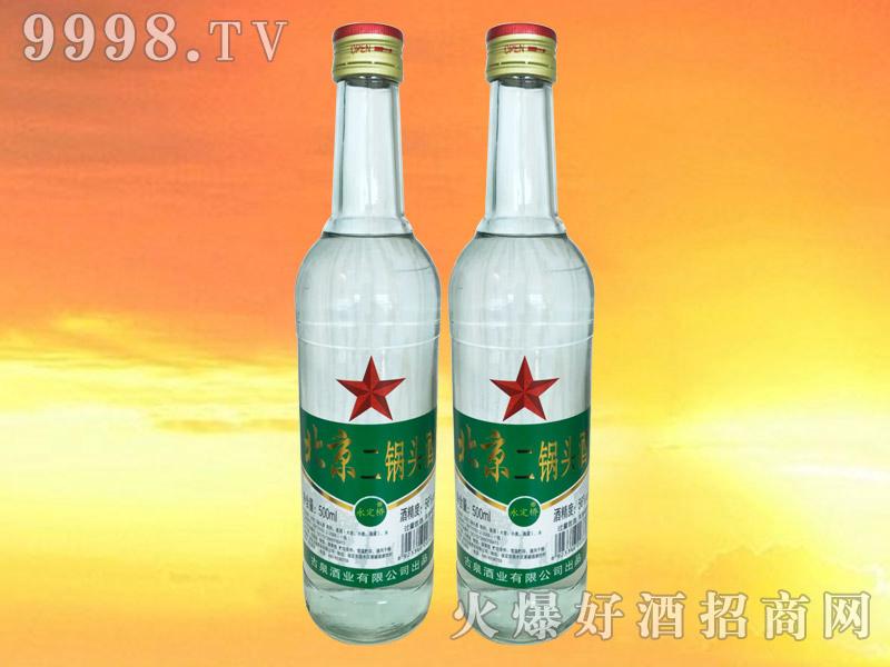 永定桥北京二锅头白瓶绿标56°500ml
