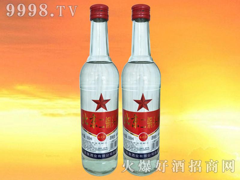 永定桥北京二锅头白瓶红标56°500ml