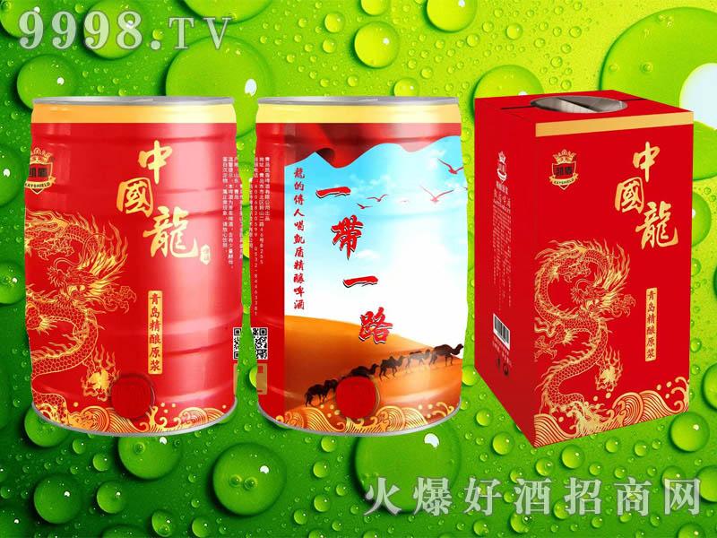 凯盾精酿原浆中国龙啤酒5L