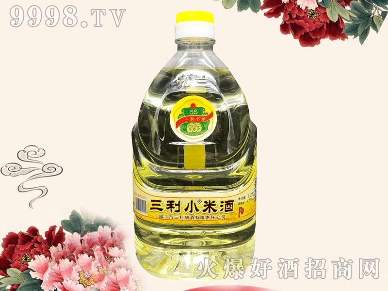 三利小米酒42度1.25L