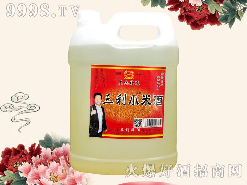 三利小米酒3.5L