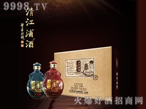 清江浦酒元年纪念版