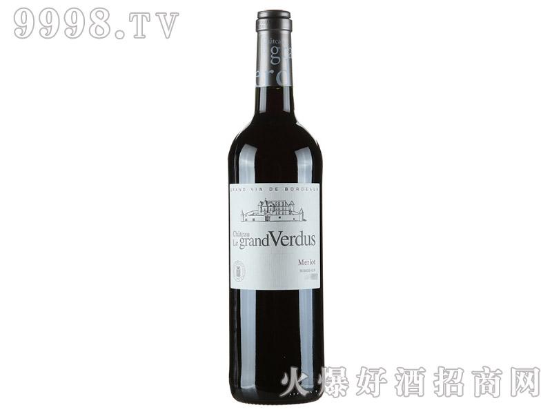 13°法国凡度庄园干红葡萄酒750ml