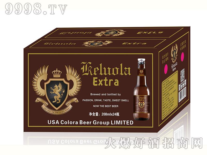美国科罗拉啤酒208mlx24瓶棕瓶箱
