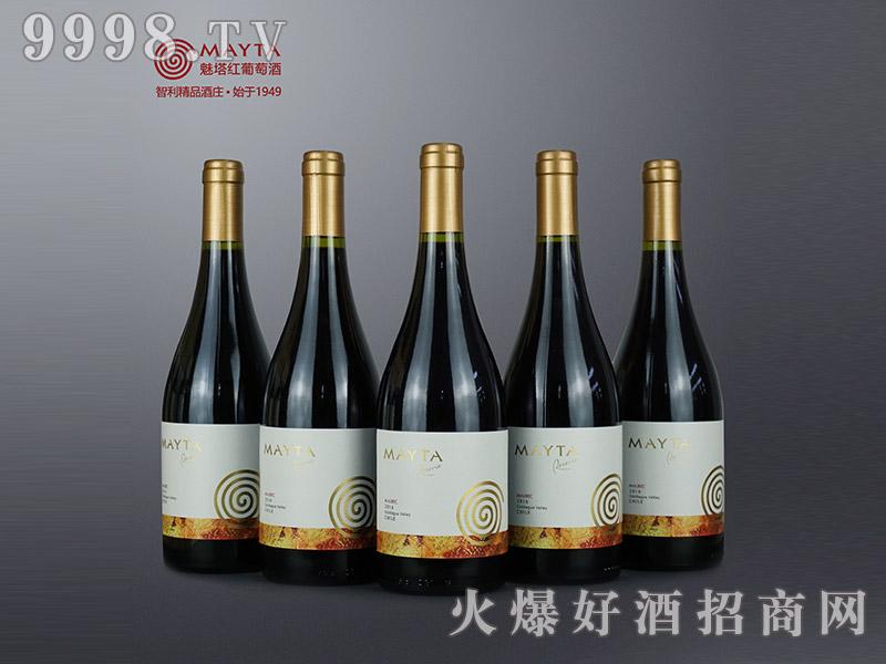 魅塔珍藏马尔贝克红葡萄酒2016