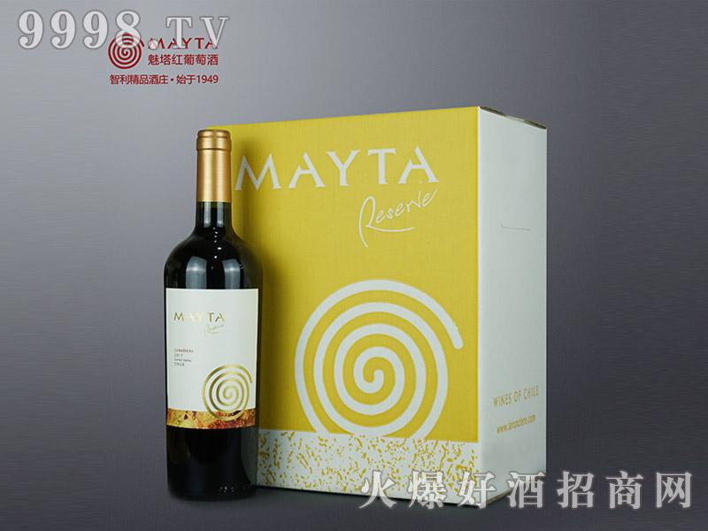 魅塔珍藏佳美娜红葡萄酒750ml