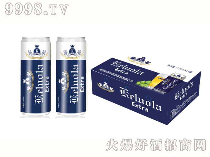 美国科罗拉啤酒320mlx24罐