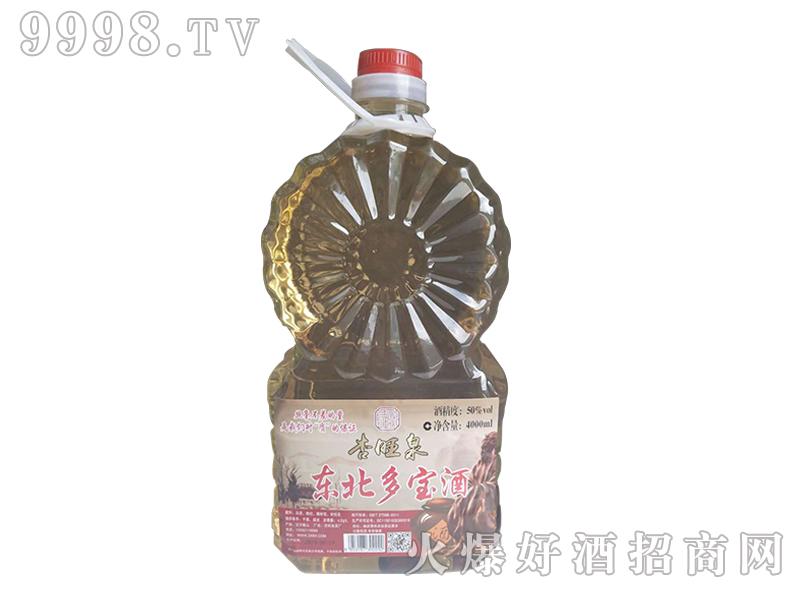 杏旺泉东北多宝酒50°4000ml