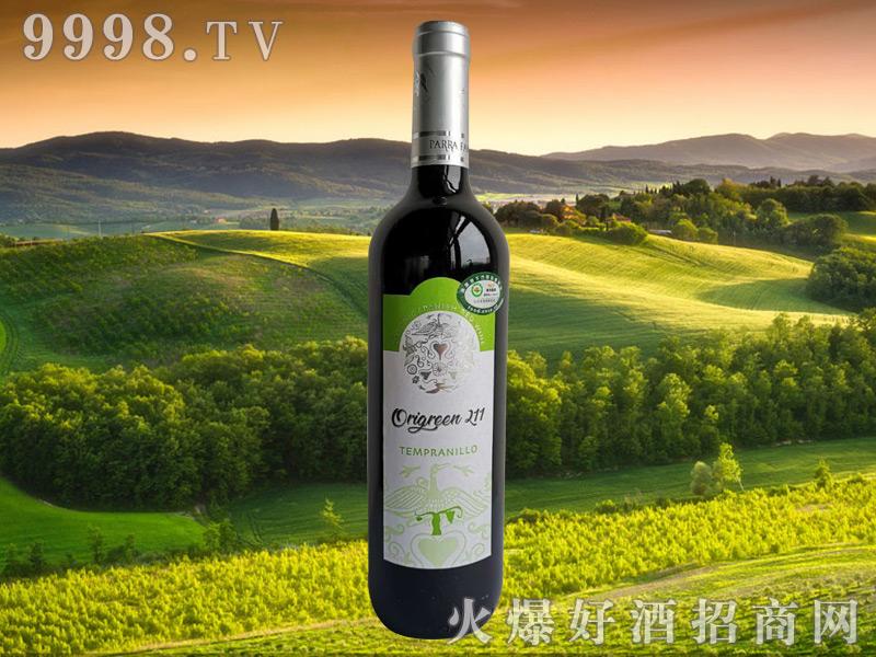 奥利金211有机干红葡萄酒