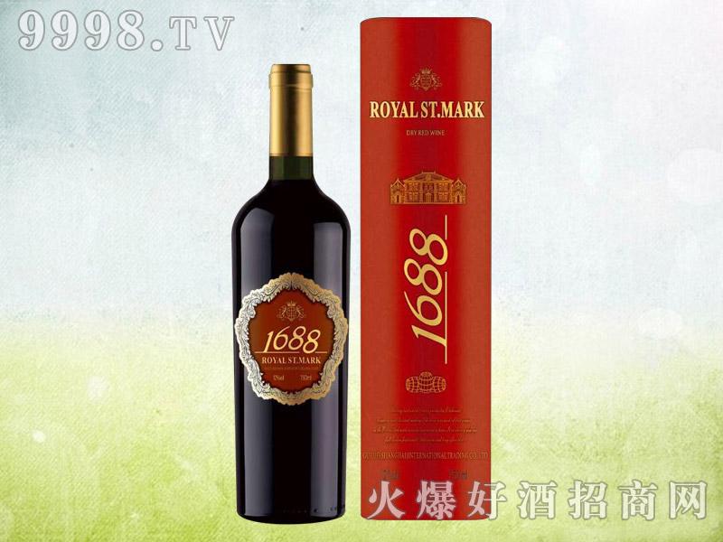 皇家圣马克1688干红葡萄酒(圆桶)