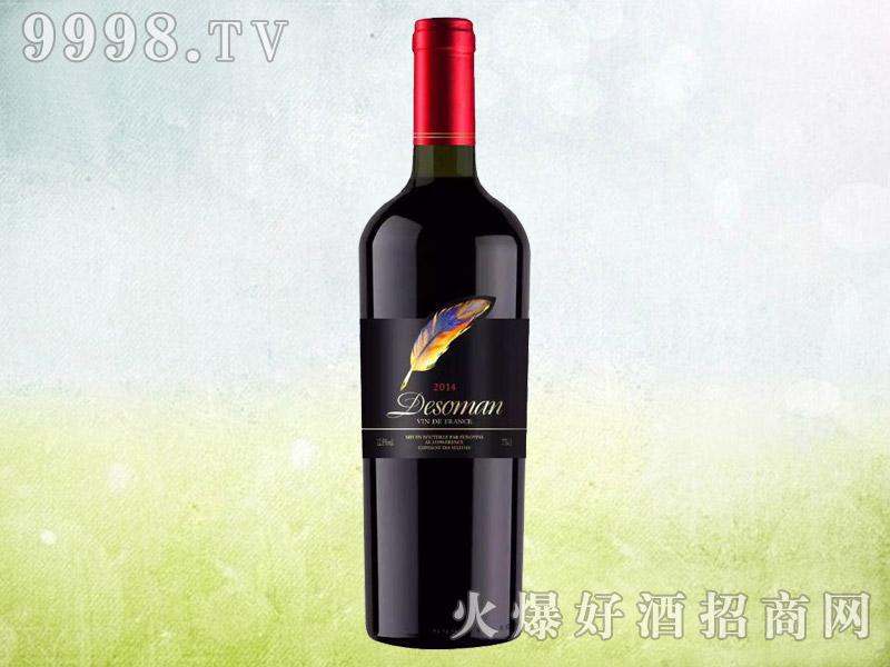 德索曼酒庄羽毛干红葡萄酒