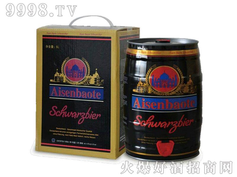爱森堡特精酿五升装黑啤酒