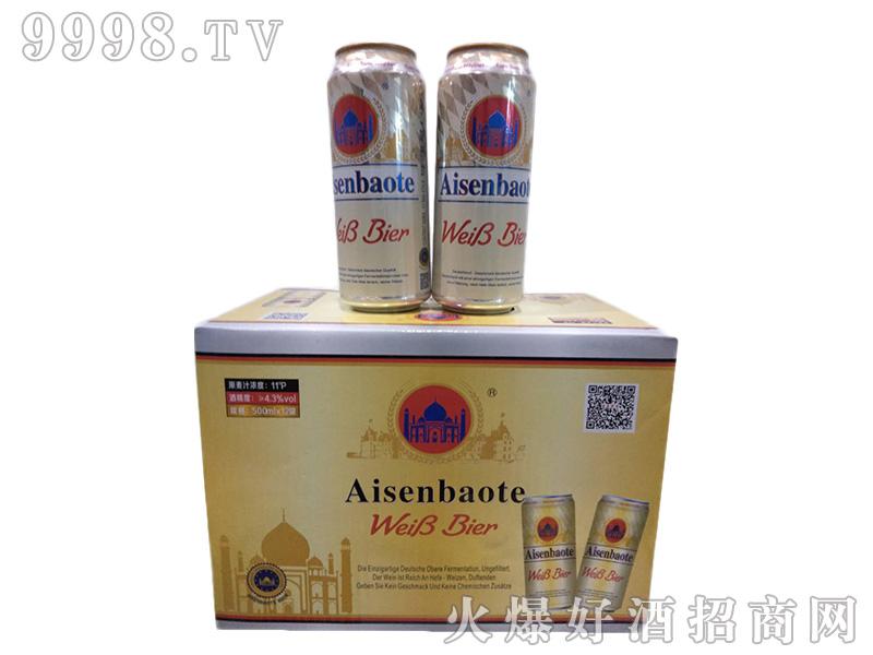 爱森堡特500ml白啤规格(1X12)-啤酒招商信息