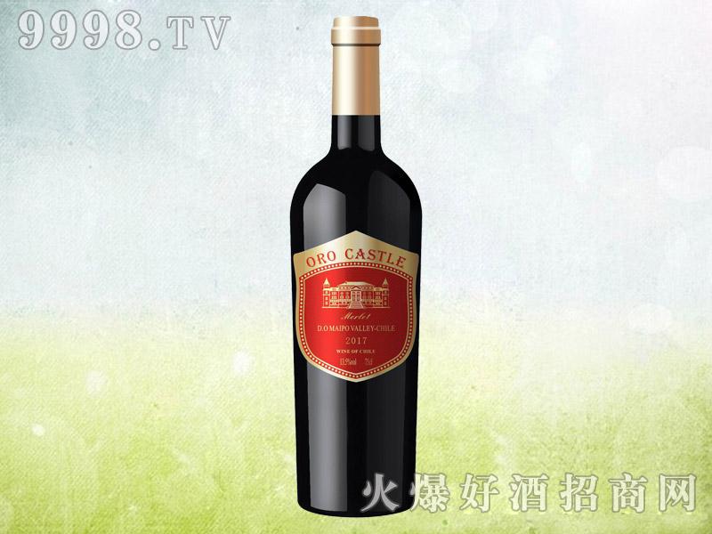 欧洛城堡美乐干红葡萄酒750ml