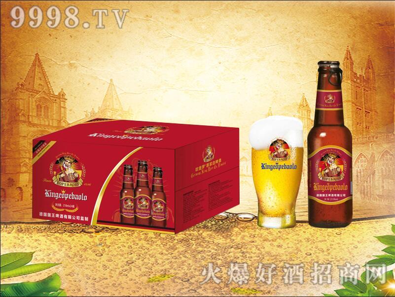 德国国王・欧堡罗原浆白啤218ml-004