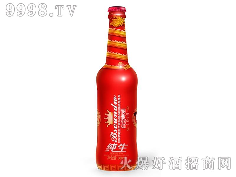 英博金龙泉・音皇纯生啤酒