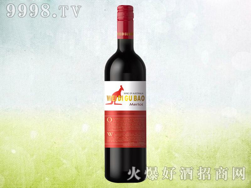 袋鼠美乐干红葡萄酒
