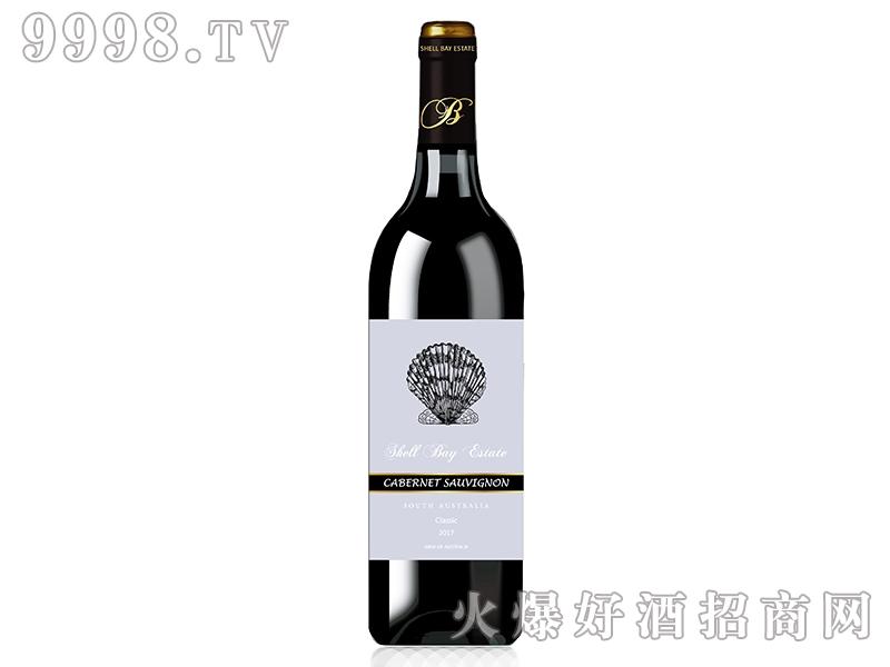 贝壳湾精选赤霞珠干红葡萄酒2017