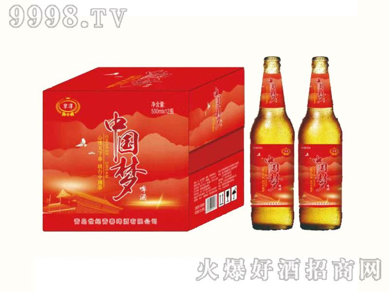 京淳啤酒中国梦500mlX12瓶-啤酒招商信息
