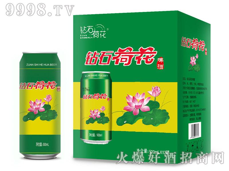钻石荷花乐虎体育直播app500ml×12罐