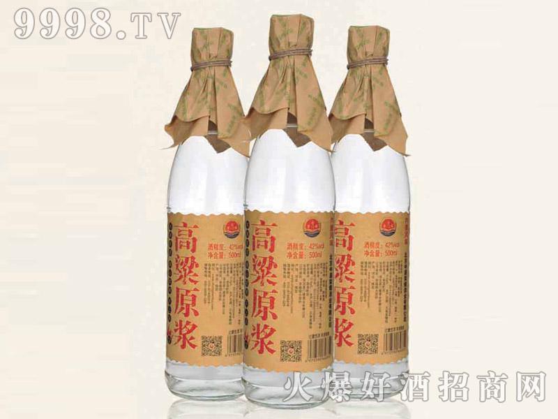 高粱原浆酒42°500ml浓香型白酒