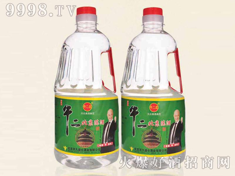 牛二北京陈酿酒42°2L清香型白酒