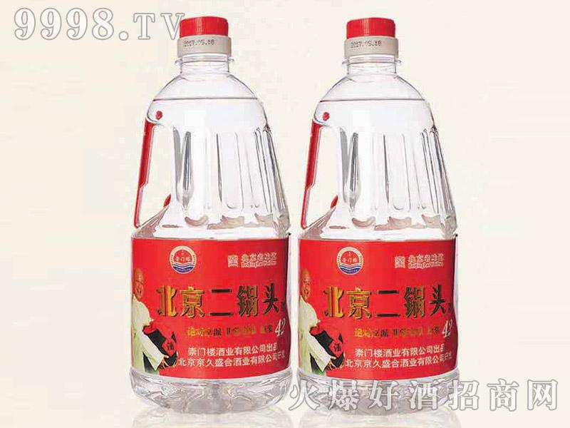 北京二锅头酒42°2L清香型白酒