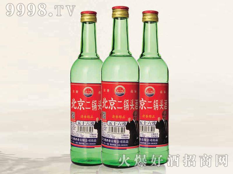 北京二锅头酒42°56°500ml清香型白酒