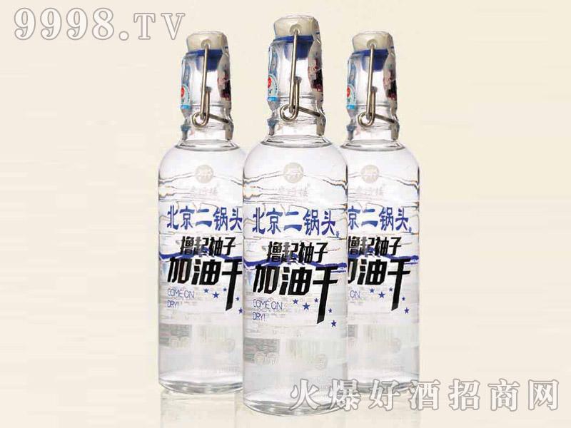 北京二锅头酒(撸起袖子加油干)42°300ml清香型白酒
