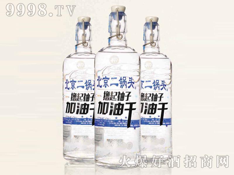 北京二锅头酒(撸起袖子加油干)42°700ml清香型白酒