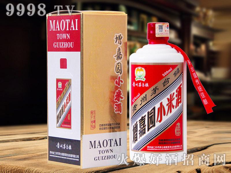 增嘉园小米酒53°500ml酱香型白酒