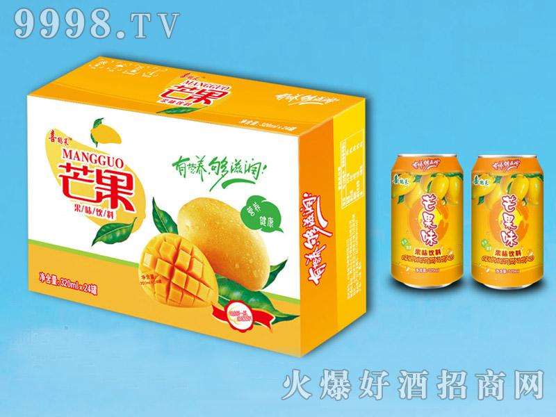 喜鹤莱芒果果味饮料320ml×24罐