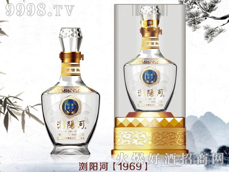 浏阳河酒1969 45°550ml浓香型白酒