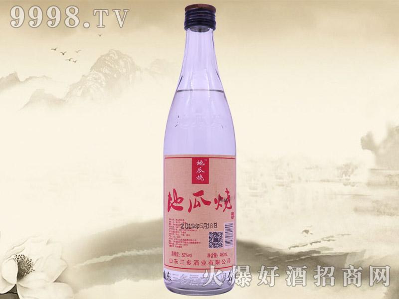 地瓜烧酒52°480ml浓香型白酒