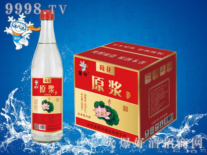 雪仔荷花原浆酒500ml×12