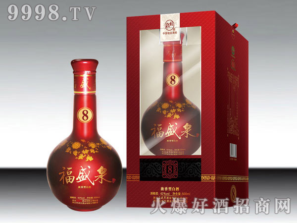福盛泉酒F8 42°500ml浓香型白酒