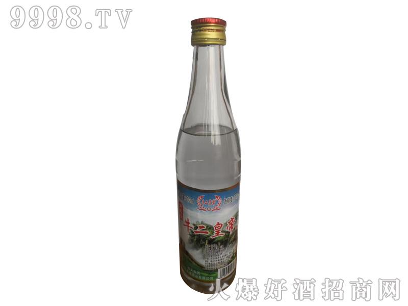 牛二皇帝酒42°500ml浓香型白酒