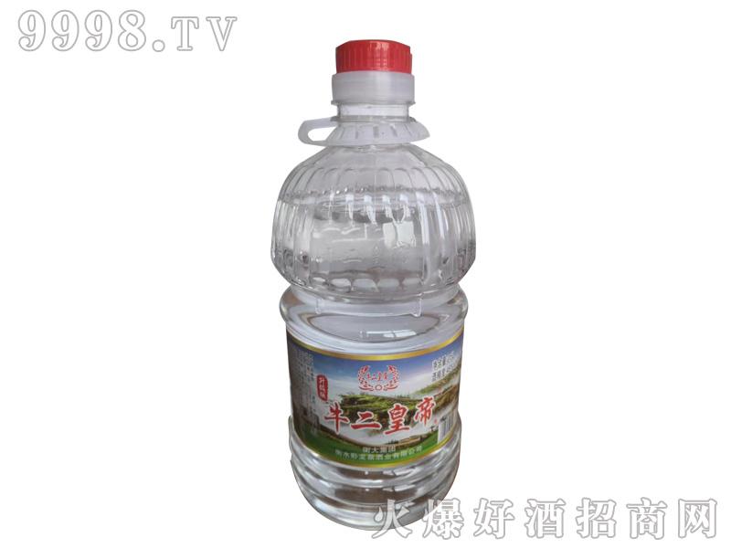 牛二皇帝酒46°2.5L浓香型白酒