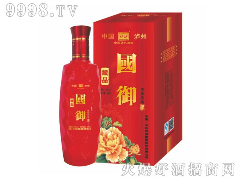 泸州池窖国御藏品52°500ml浓香型白酒