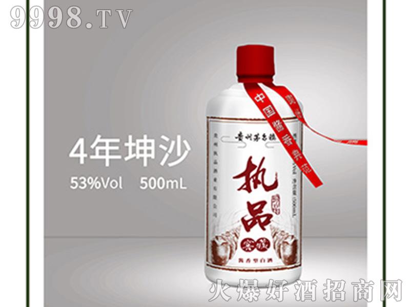 执品4-53°500ml酱香型白酒