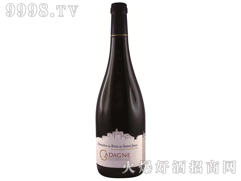 法国罗纳河谷圣泉庄园珍藏干红葡萄酒