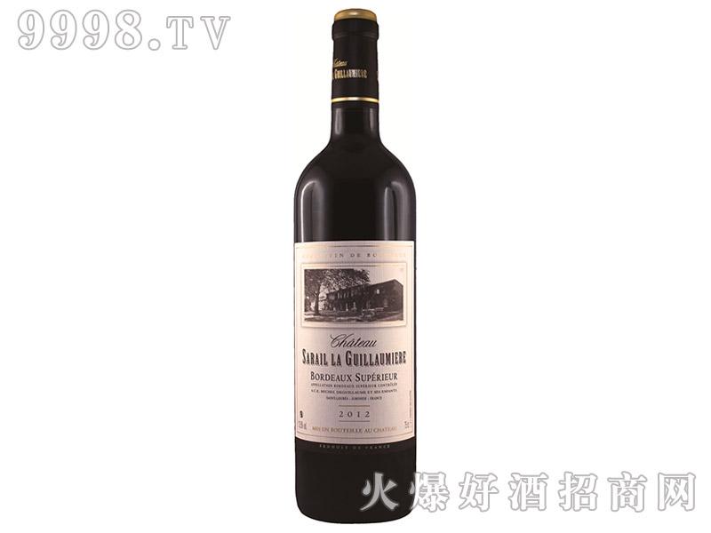 法国塞吉姆酒庄干红葡萄酒2012