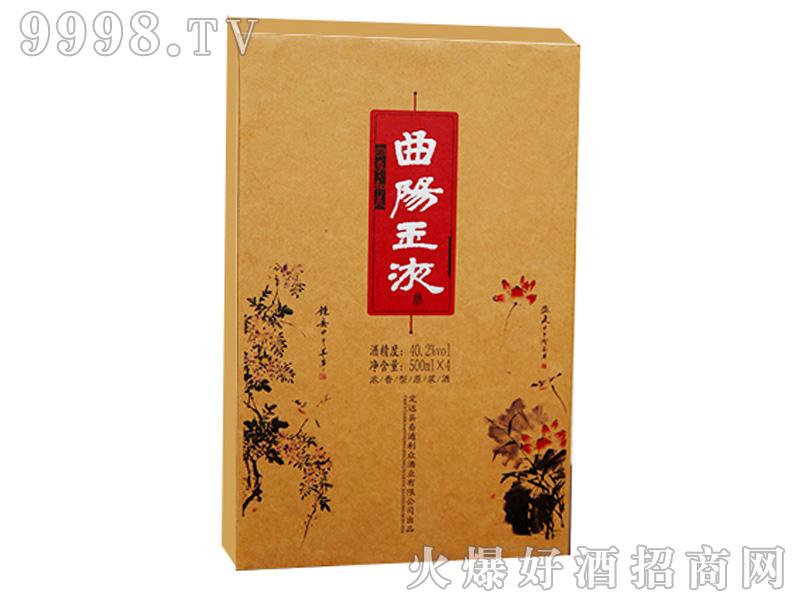 曲阳玉液小花盒装40.2%vol500ml