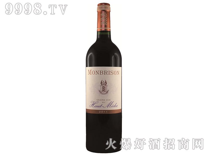 百松酒庄高梅干红葡萄酒2011